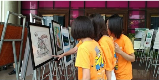 Ha Noi: Kids call for protection of wildlife