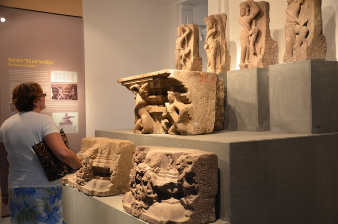 Chàm museum gets breath of fresh air